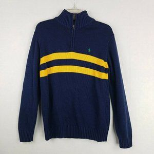 Ralph Lauren Mens Large Sweater 1/4 Zip Pullover